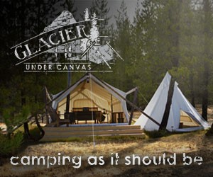 Glacier Under Canvas - Luxury Camping - Glamping.