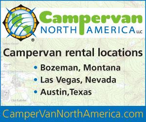 Campervan North America : Campervan Rentals.