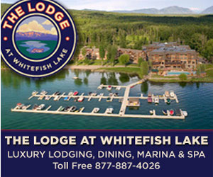 The Lodge at Whitefish Lake Family Resort - Full-service lakefront resort provides luxury lodge suites or lakefront condominiums year-round. On-site fine dining, massage and spa, full-service marina w/boat and rentals, complete wedding center, ceremony venue options and on-site guest concierge.
