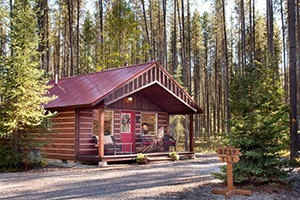 Reclusive Moose Cabins|Homes looking into Glacier