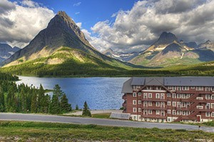 "Off the Beaten Path - Lodging at Many Glacier :: Stay at Many Glacier hotel as part of our ""Crown of the Continent"", 6-day, 5-night package. Small group vacation specialists. Pre-planned or custom created itineraries."
