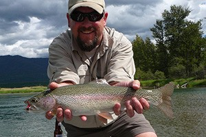 Wild Trout Angling Adventures around Glacier :: Guided fishing trips on mountain lakes, the Swan and Flathead Rivers. We love introducing fly fishing to visitors, and showing families how much fun fishing can be.