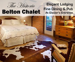 Belton Chalet : Belton Chalet's 25-room lodge and two cottages offer fresh baked pastries and fresh Montana Coffee Traders coffee every morning in the Lodge Lobby. Built in the same year Glacier became a National Park, our location is right at the western entrance.