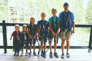 Glacier Highline - family adventures :: The area's newest aerial attraction. Enjoy both adult and kids ropes courses, plus new climbing wall. Experience 47 different activities. Walk-ins or BOOK ONLINE.