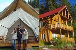 Bar W Guest Ranch - summer family packages :: Families love our comfortable lodging (B&B lodge rooms, cabins or GLAMPING tents), horseback riding programs, kids fishing, hiking, great food and quiet solitude near Glacier.