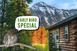 Summit Mountain Lodge - save 15% on early special :: Warm mountain cabins on the Continental Divide. Stay with us May 20 through June 10 and save 15% using code EarlyBird2017. Outstanding steakhouse on-site, plus full bar.
