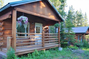 Summit Mountain Lodge :: Warm mountain cabins on the Continental Divide. Outstanding steakhouse on-site, plus full bar. Look out to see moose in the pond, eagles in the sky & incredible scenery.