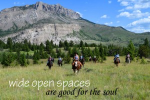 JJJ Wilderness Ranch - spectacular location :: Located at the entrance to the Bob Marshall Wilderness, Montana's greatest outdoor playground. Enjoy fishing, hiking, riding, pack trips, shooting sports, campfires & more.