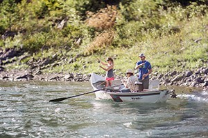 Great Northern Guided Fly Fishing Trips :: Come catch rainbow, brown and Westslope cutthroat trout on the Middle Fork of the Flathead. Our guides love introducing the sport to visitors for the first time.