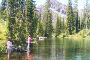 Swan Mountain Fishing Outfitters :: Offering float and walk-in trips on the legendary Swan River, or horseback fishing trips in the backcountry lakes near Swan Lake. These are untapped resources waiting for you