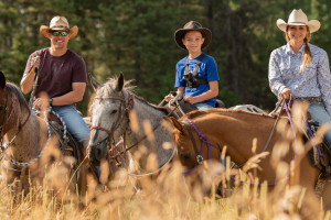 Glacier Dude Ranches, National Park Guest Ranch Vacations