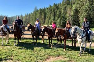 Bar W Ranch - horseback trail rides or equestrian