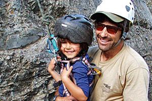 Rock Climb Montana - teach kids to climb