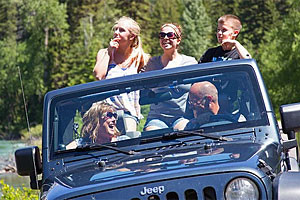 Glacier Jeep Rentals - best way to drive the Park