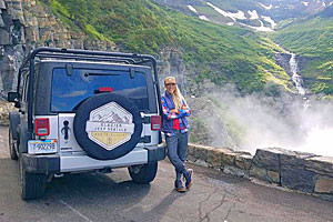 Glacier Jeep Rentals - for Glacier Park