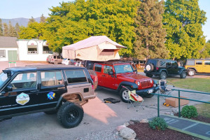 Rental Jeep & Camping Setups for Glacier Area
