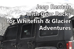 Rent a Jeep for Winter Adventure
