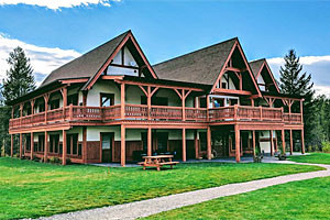 Great Northern Resort - new Glacier Lodge rooms