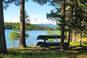 Book National Forest Campsites - outside Glacier