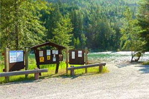 Book Big Creek Campground on the Flathead River