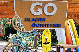 Glacier Outfitters - at Apgar Village on the Lake