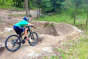 Whitefish Bike Retreat - Kids love our trails