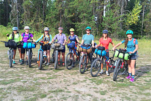 Whitefish Bike Retreat - trailside bike rentals
