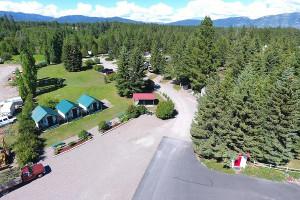 Glacier Peaks | Cabins, Camping & RV Park