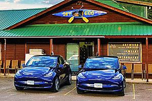 Sky Eco | Tesla car rentals near Glacier