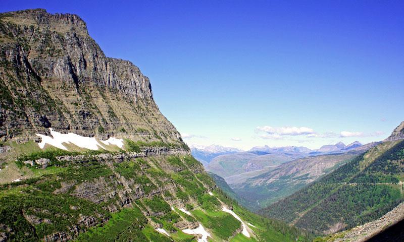 Glacier National Park Scenic Routes Driving Auto Tours