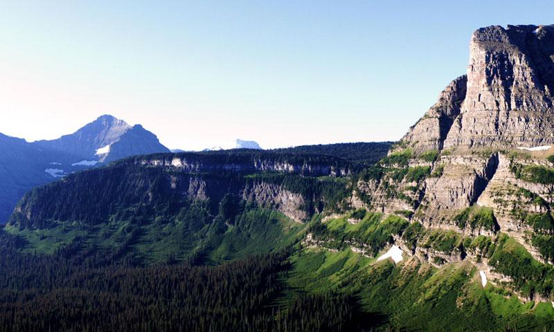 Going to the Sun Road in Glacier National Park