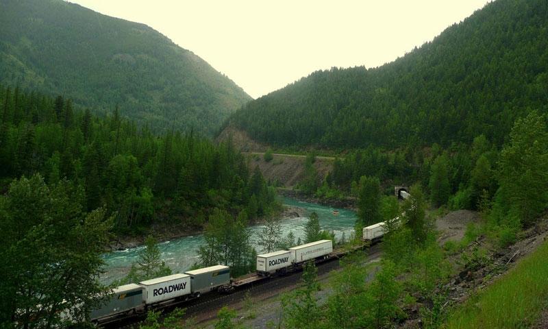 Marias Pass in Montana