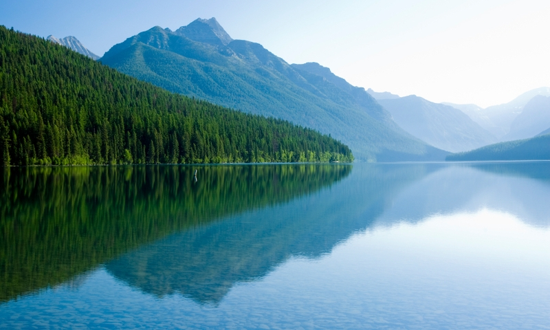 Glacier National Park Montana Bowman Lake