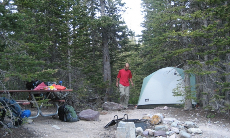 Glacier National Park Backpacking Backcountry Camping
