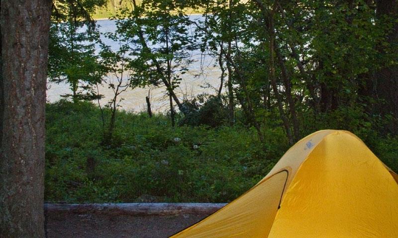 Glacier Kintla Campground