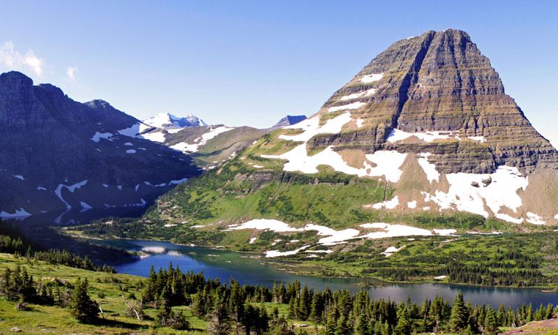 Hidden Lake Hiking Trail on Logan Pass
