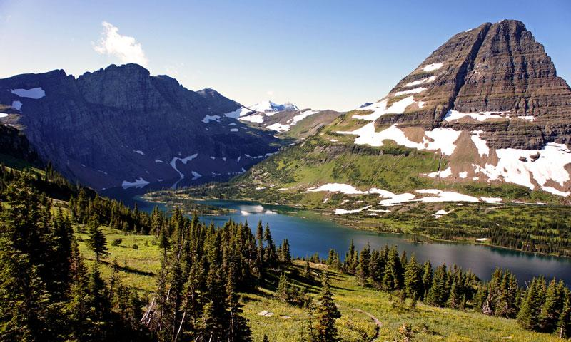 Hidden Lake at Logan Pass in Glacier National Park