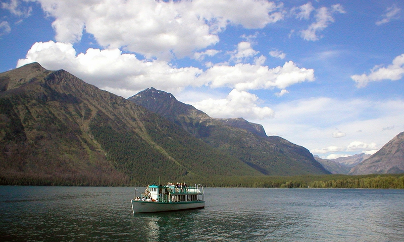 Glacier National Park Montana Lake Mcdonald Boat Tours