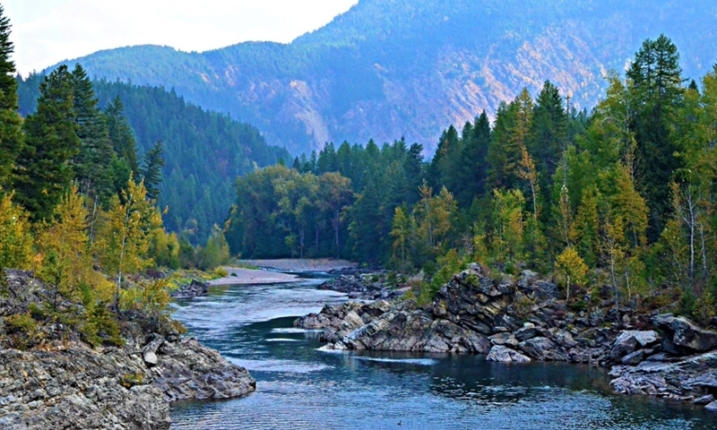 Middle Fork Flathead River Montana Fly Fishing Whitewater