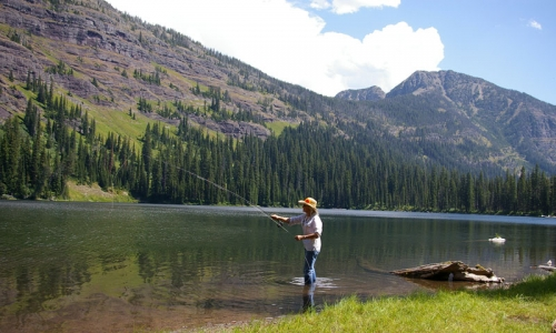glacier national park fishing fly fishing alltrips