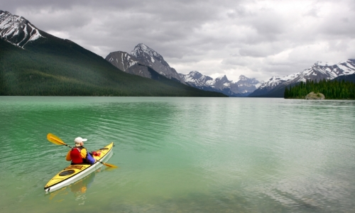 Banff National Park Kayaking