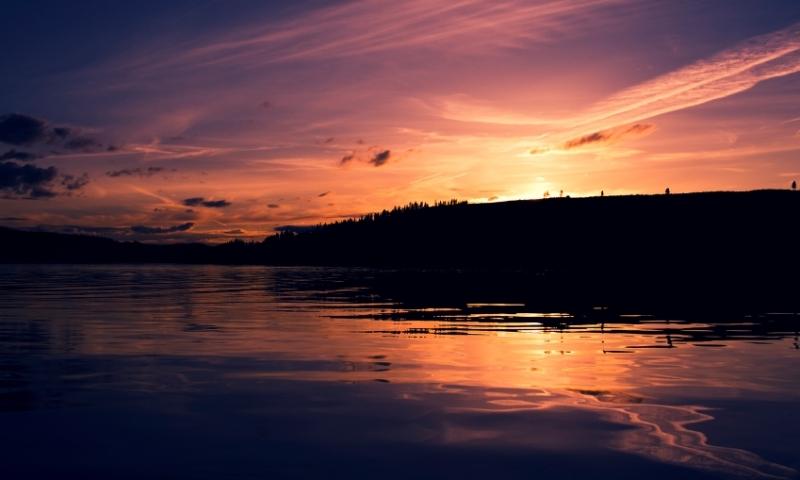 Coeur Dalene Idaho Lake