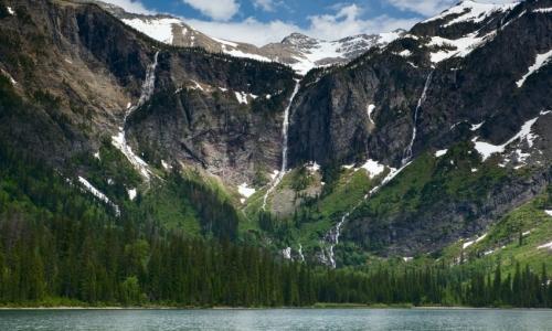Glacier NP Avalanche Lake