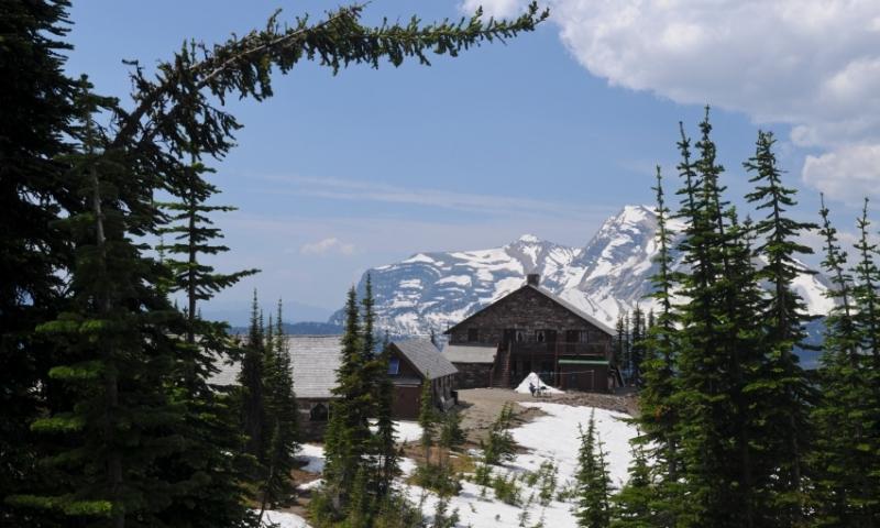 Glacier National Park Montana Granite Park Chalet Swiftcurrent Pass