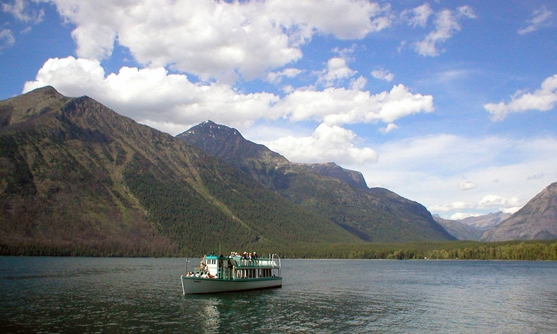 Lake Mcdonald Glacier National Park Fishing Camping