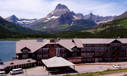 Many Glacier Hotel Glacier National Park