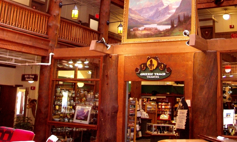 Glacier National Park Montana Many Glacier Lodge Hotel