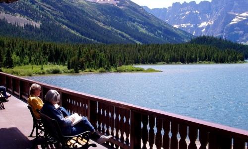 Many Glacier Hotel Montana