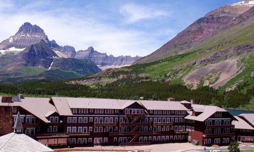 Montana Many Glacier Hotel