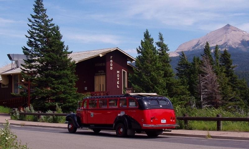 Red Jammer Buses Glacier National Park